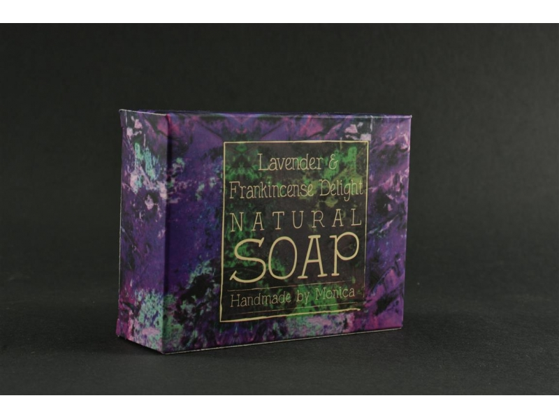 Palm Free Natural Soap Lavender Frankincense.