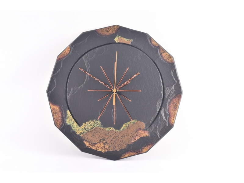 Round Slate Clocks