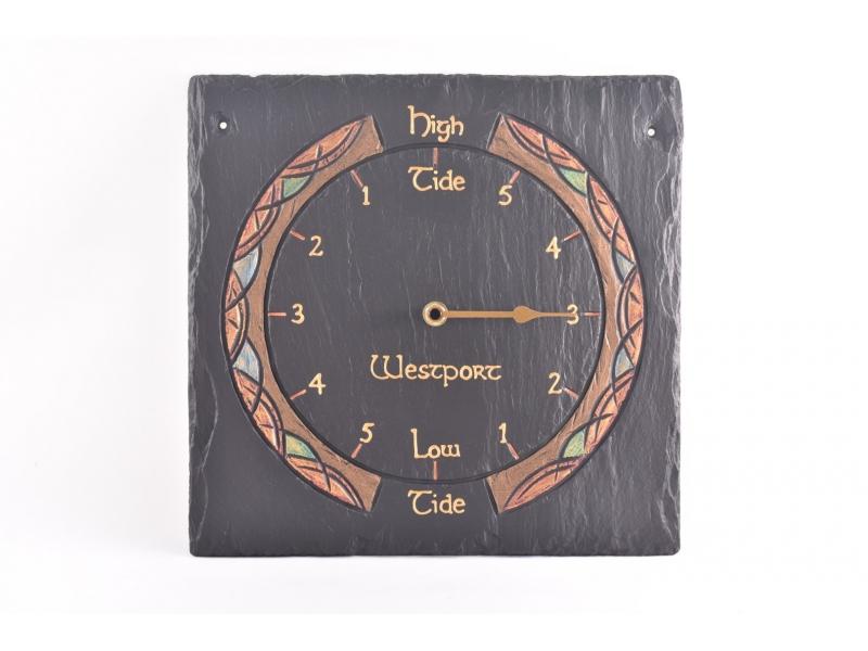 Customised Slate Tidal Clock