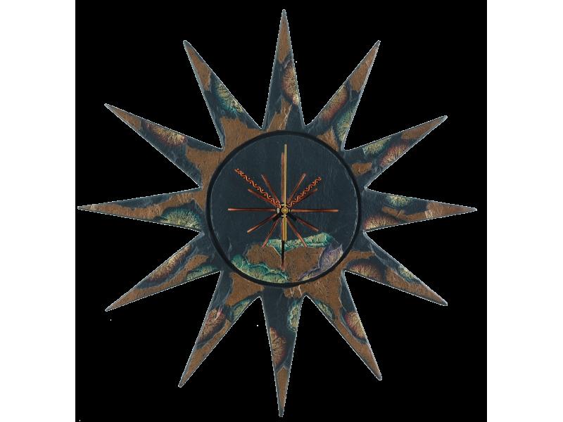 sun-clock-gold-green-edge-1