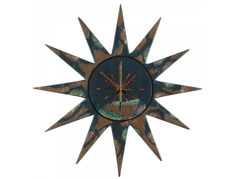 sun-clock-gold-green-edge-3