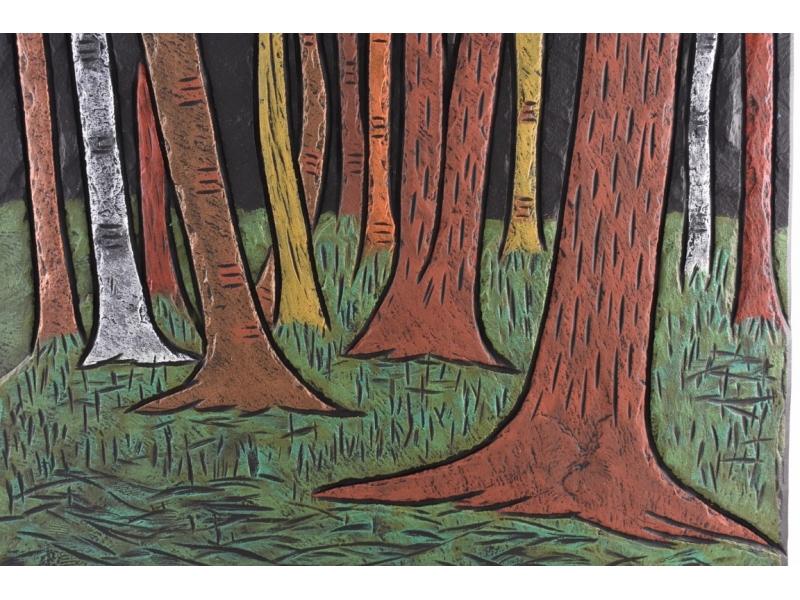 woodland-scene-on-slate-1